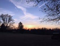 Рано утром предыдущая весна Стоковое фото RF