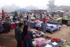 Рано утром рынок Стоковые Изображения