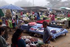 Рано утром рынок Стоковые Фото