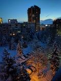 Рано утром, София стоковое изображение