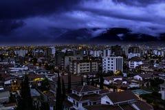 Рано утром Cochabamba стоковые изображения