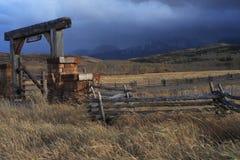 Ранчо в Колорадо стоковые изображения