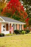 ранчо флага домашнее Стоковые Изображения RF
