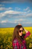 рапс девушки Стоковое фото RF