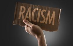 Расизм на схематическом изображении Стоковая Фотография