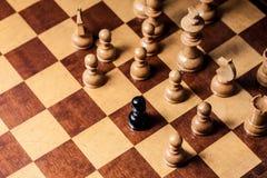 Расизм шахмат Стоковые Фотографии RF