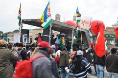 расизм rome Италии демонстрации Стоковые Фотографии RF