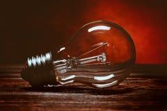 раскаленный добела светильник Стоковые Изображения