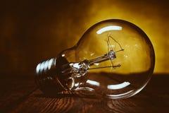 раскаленный добела светильник Стоковое фото RF