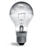 раскаленный добела светильник иллюстрация штока