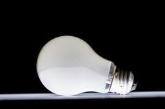 Раскаленная добела электрическая лампочка Стоковое Изображение
