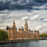 расквартировывает парламента london стоковое изображение rf