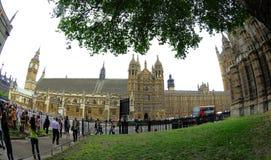 расквартировывает парламента london Стоковое Изображение