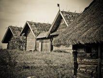 расквартировывает старое деревянное Стоковое Фото