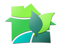 Расквартировывать зеленый цвет Стоковые Изображения RF
