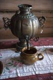 Расквартируйте музей, историческая русская хата в котором была рожденным Chapaev Стоковые Изображения