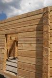 расквартируйте новое деревянное стоковая фотография