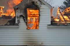 Расквартируйте пожар Стоковые Фото
