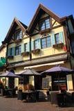 расквартируйте швейцарское село стоковая фотография