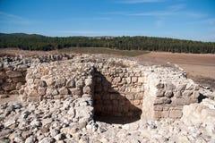 Раскопки археологии в Израиле Стоковое Изображение