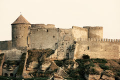 Раскопки крепости Стоковое фото RF