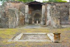 Раскопк Pompei, Италия Стоковое Фото