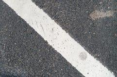 раскосная дорога маркировки Стоковое Изображение RF