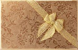 раскосная тесемка золота фольги Стоковые Фото