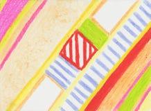 Раскосная Striped картина стоковое изображение rf