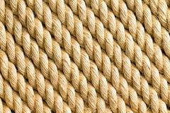 Раскосные стренги веревочки как предпосылка Стоковые Изображения RF