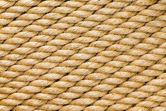 Раскосные стренги нового толстого сизаля rope Стоковые Изображения RF