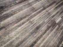 Раскосные текстурированные деревянные планки Стоковое Изображение
