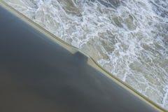 Раскосный край воды стоковое изображение