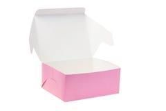 Раскройте бумажную коробку Стоковые Фото