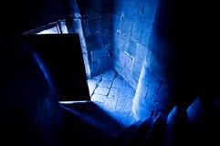 Раскройте дверь замка Стоковое Изображение RF