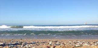 Раскройте волны Стоковое Фото