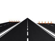 раскройте дорогу вы Стоковая Фотография RF