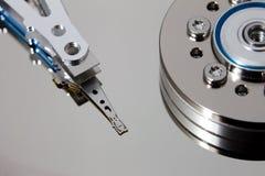 Раскройте жёсткий диск Стоковые Изображения