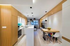 Раскройте интерьер квартиры плана Стоковое Изображение RF