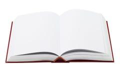 Раскройте книгу в твердом переплете Стоковое Изображение