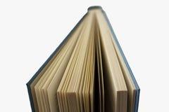 Раскройте книгу над белизной Стоковое Фото