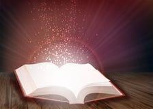 Раскройте книгу Иллюстрация штока