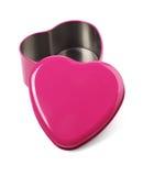 Раскройте контейнер сформированный сердцем Стоковое Изображение RF