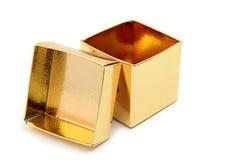 Раскройте коробку подарка Стоковая Фотография RF