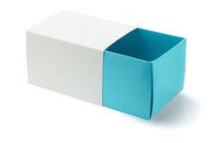 Раскройте коробку подарка Стоковое фото RF