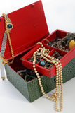 Раскройте коробку сокровища Стоковое Фото