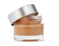 Раскройте косметическую Cream бутылку Стоковое фото RF