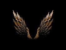 раскройте крыла Стоковое Изображение RF