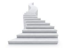 раскройте лестницу Стоковое фото RF