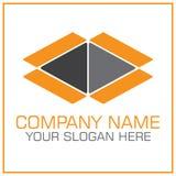 Раскройте логотип вектора коробки для двигать/транспортная компания иллюстрация вектора